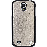 Viva - Ostrich Case for Samsung Galaxy S 4 - Gold - By Jennifer Lopez