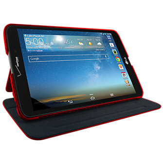 Verizon Folio for LG G Pad 8.3 LTE - Red