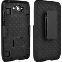 Shell Holster Combo with Kickstand for DROID Turbo