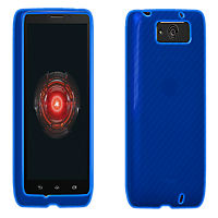VZW High Gloss Silicone Case for MAXX - Blue