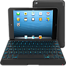 ZAGGkeys Folio Backlit Bluetooth® Keyboard for Apple® iPad® Mini